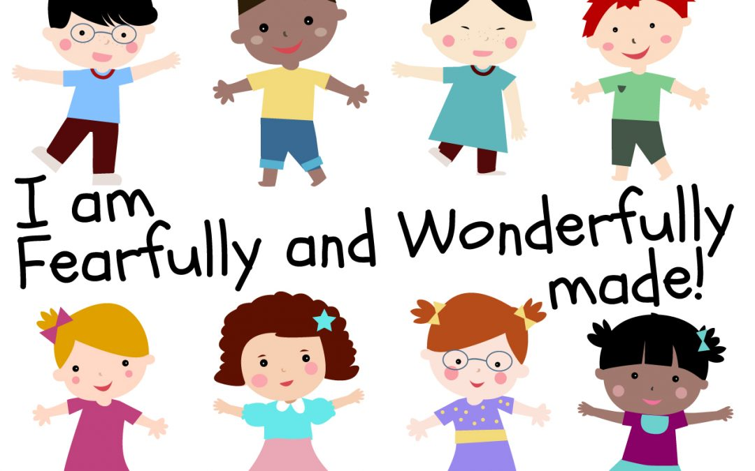 I Am Fearfully and Wonderfully Made\' Childrens Lesson on Psalm 139:14