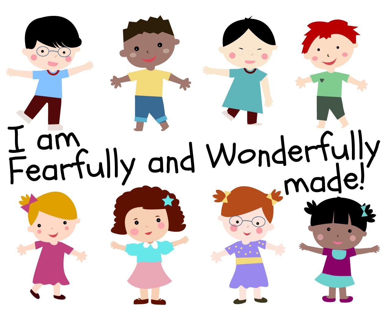 i am fearfully and wonderfully made  childrens lesson on end of school day clipart end of school clipart black and white