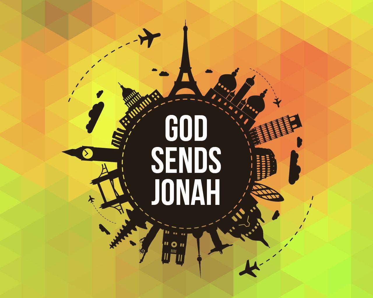 'God Sends Jonah' Childrens Lesson on Jonah