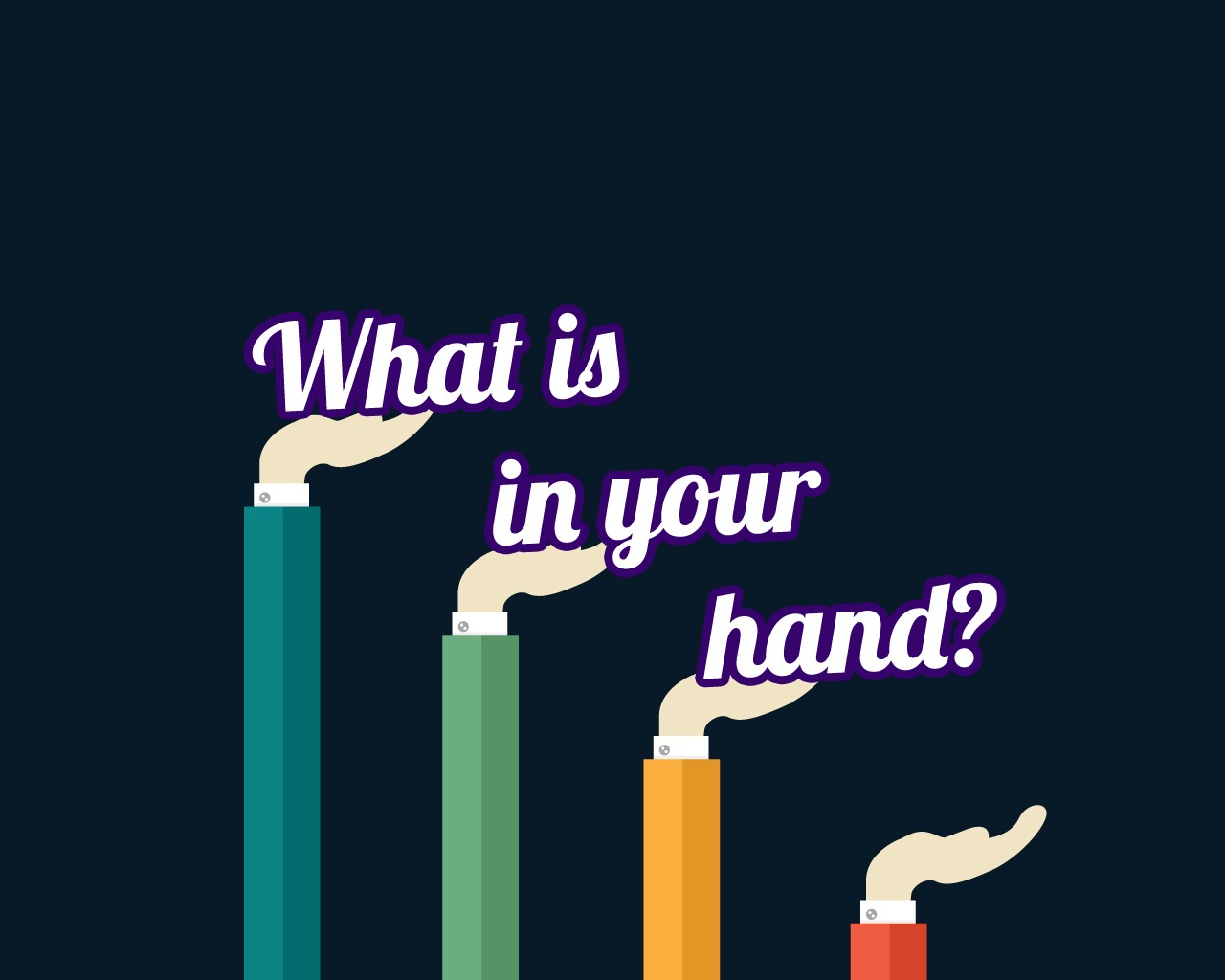 What Is In Your Hand Childrens Lesson On Exodus 4