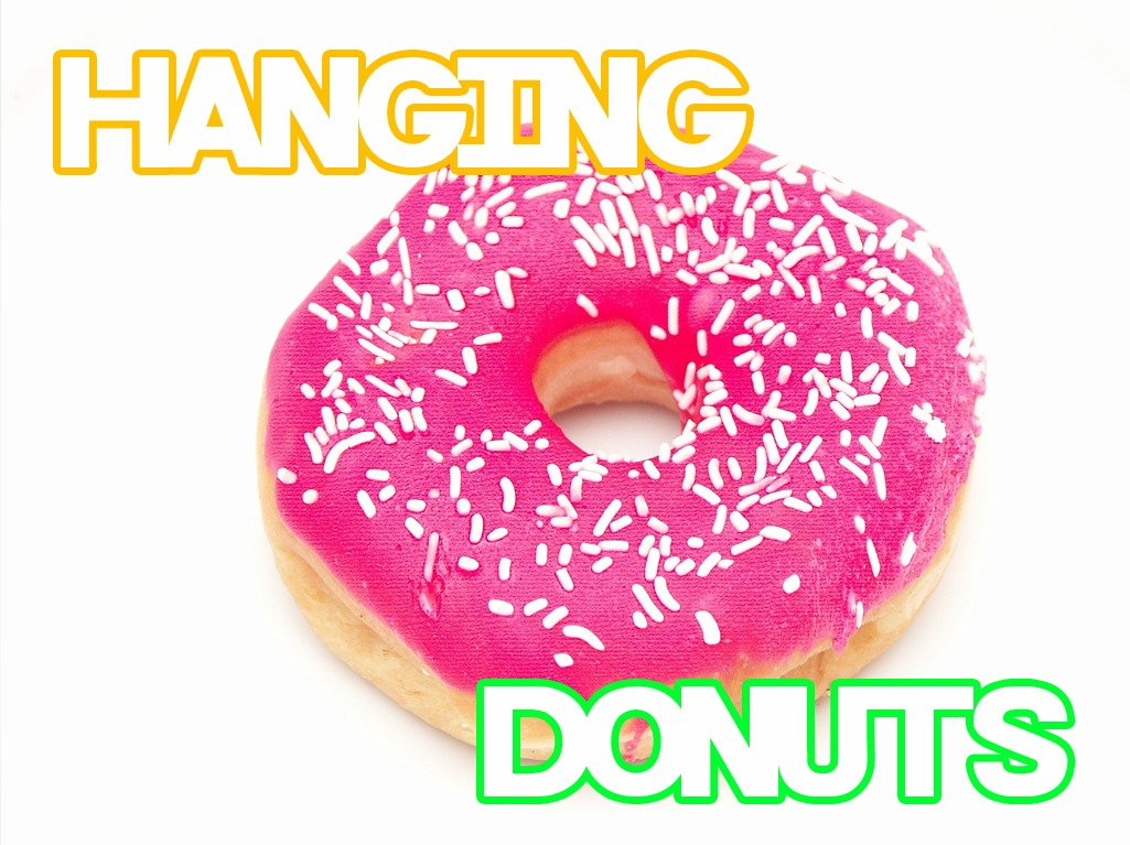 'Hanging Donuts' Game