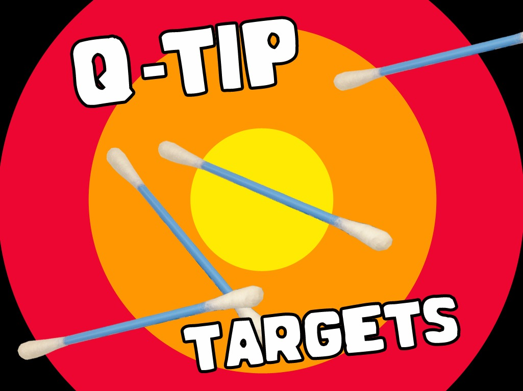 'Q-Tip Targets' Game