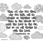 1 Thessalonians 4:17 Printable