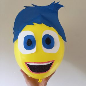 Joy Inside Out character balloon