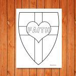 'Shield of Faith' Printables