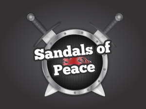 Sandals of Peace title