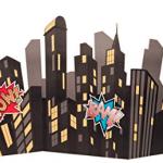 Superhero cityscape