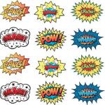 superhero cutouts