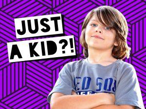 Just a Kid purple