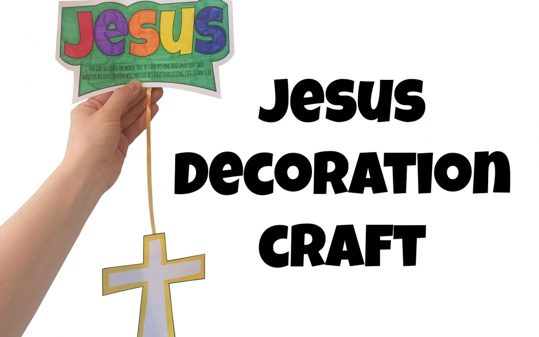 'Jesus Decoration' Craft