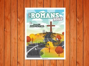 Click here for the 'Romans Road' Childrens Poster
