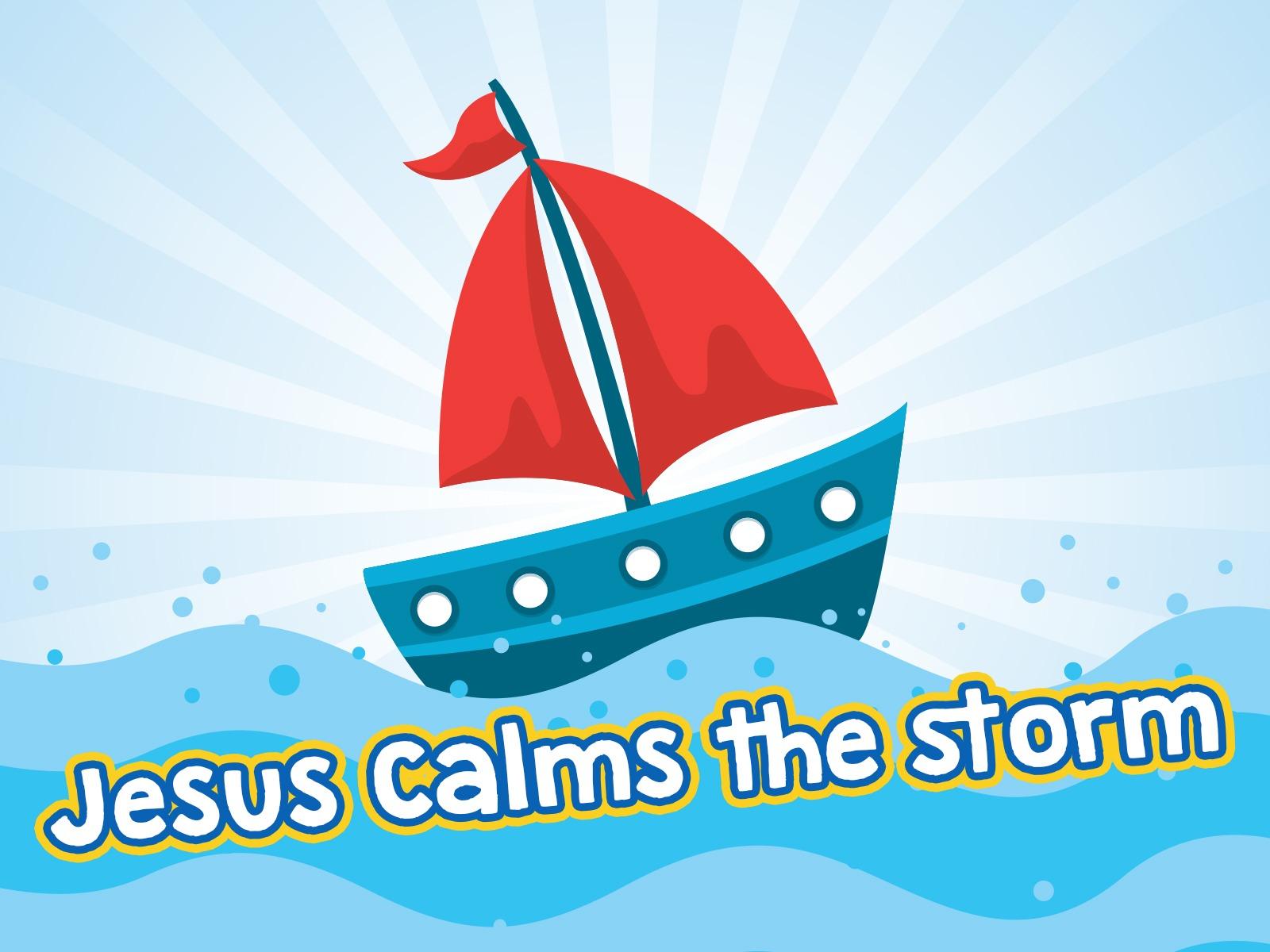 Jesus Calms The Storm Craft Free