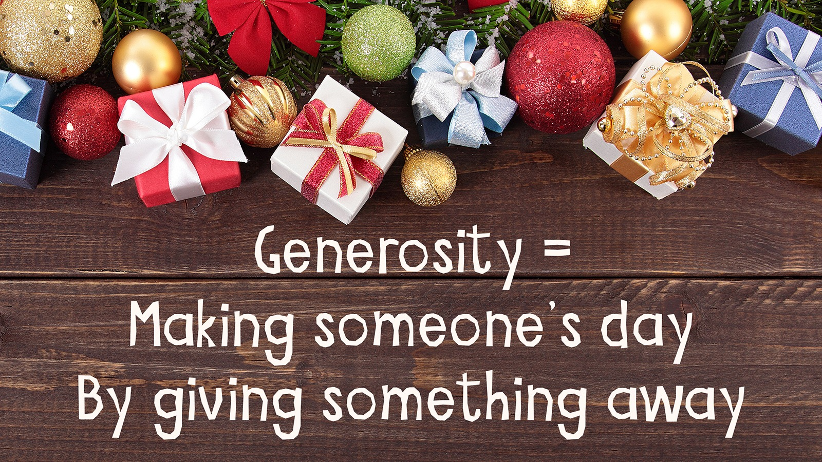 Image result for christmas generosity