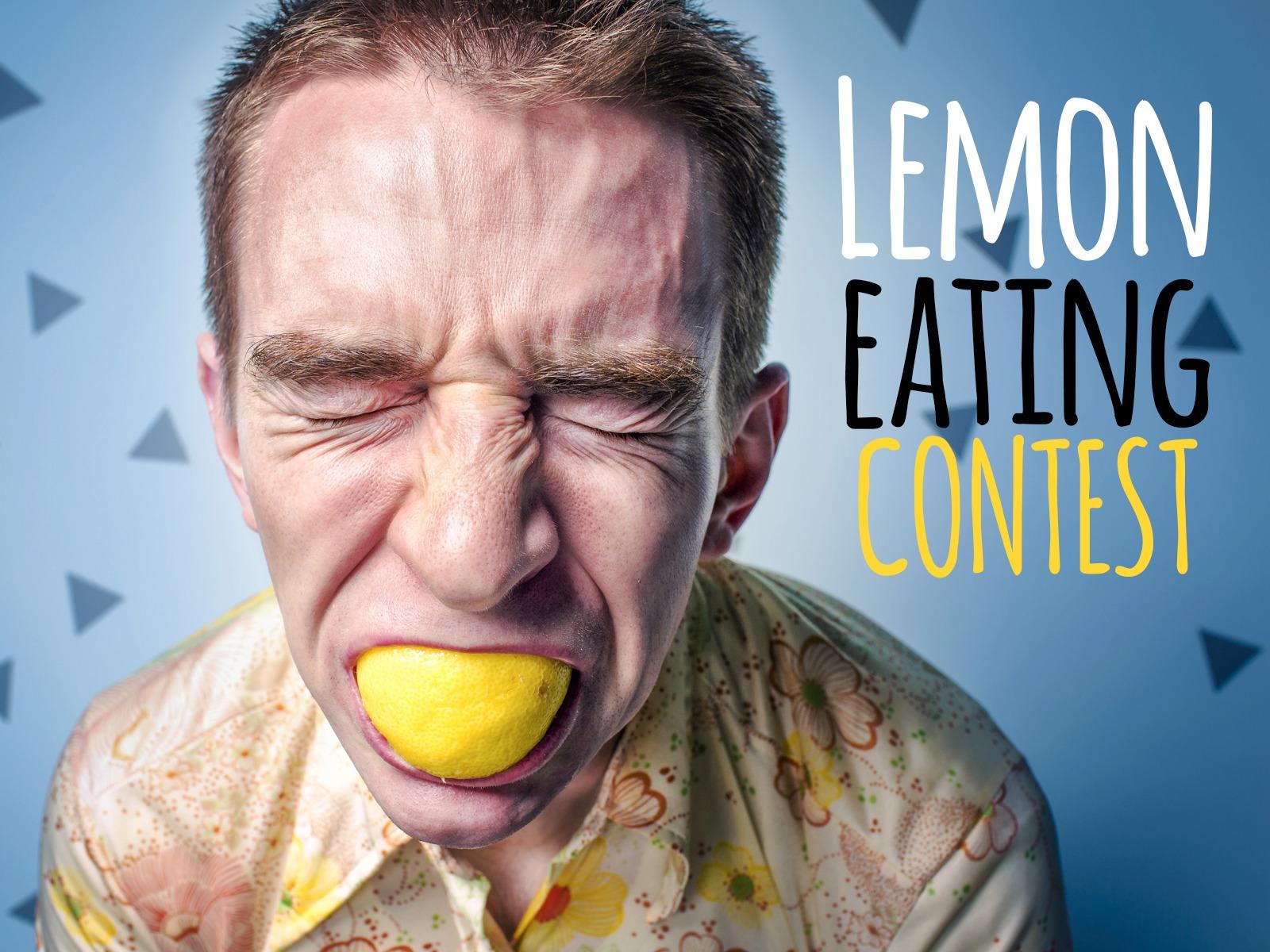 Lemon Eating Contest