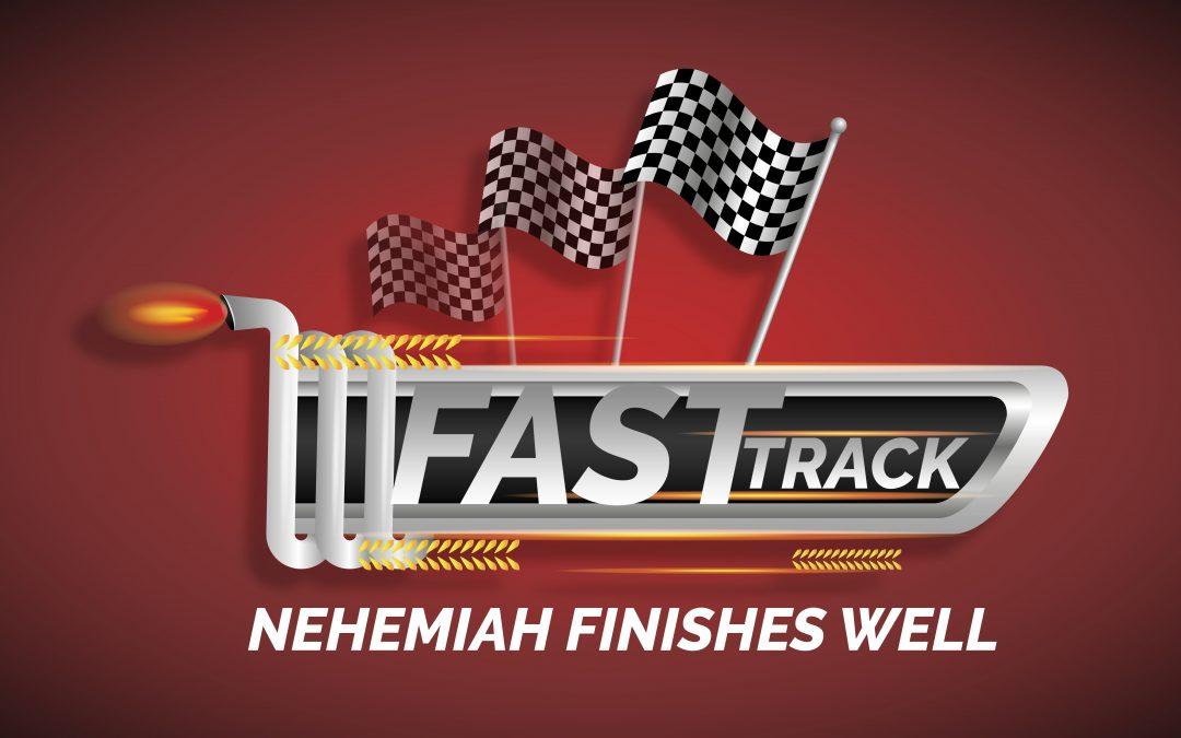 'Nehemiah Finishes Well' Childrens Lesson on Nehemiah