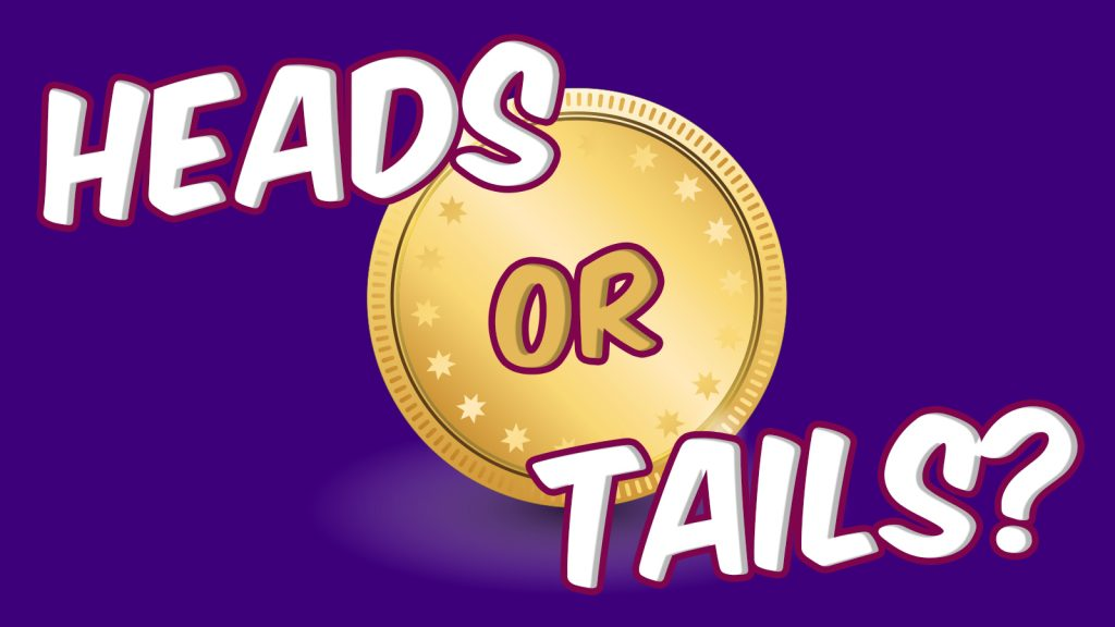 heads and tails coin game