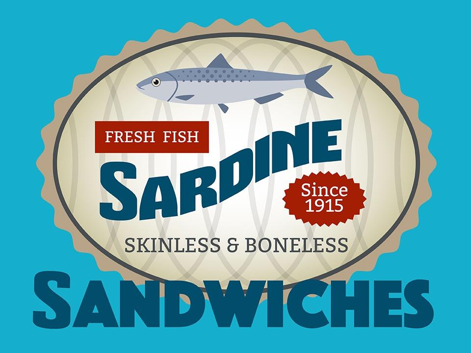 Sardine Sandwiches