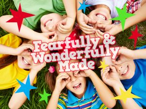 Click here for an alternative design for the 'Fearfully and Wonderfully Made' Childrens Lesson