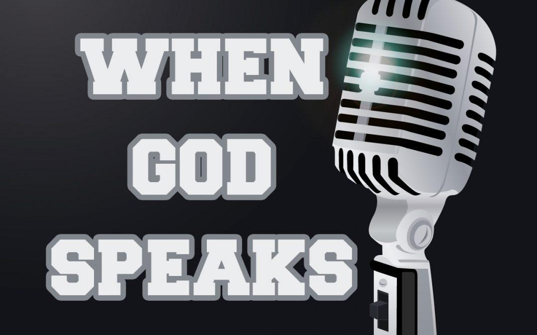 'When God Speaks' Childrens Lesson (1 Kings 17-18)