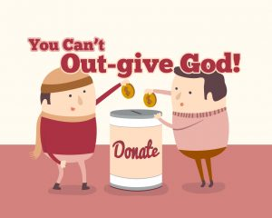 Click here for the 'You Can't Out-give God!' lesson Powerpoint image
