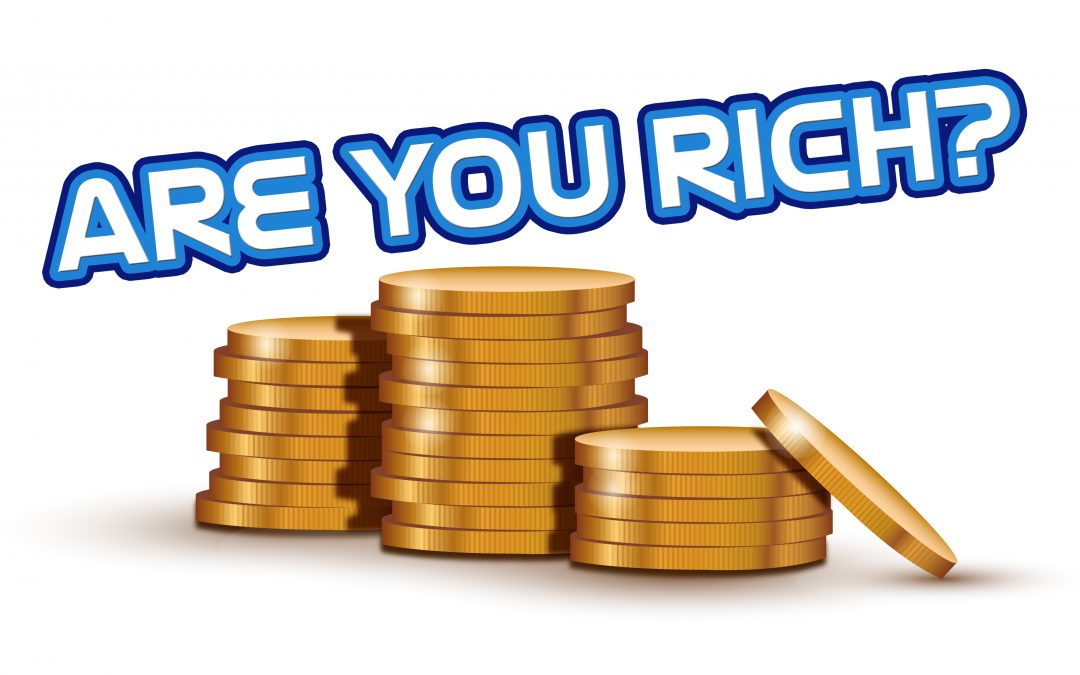 'Are You Rich?' Sunday School Lesson (Matthew 6:19-24)