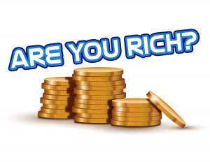 Click here for the 'Are You Rich?' lesson Powerpoint image