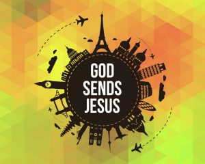 Click here for the 'God Sends Jesus' lesson Powerpoint image