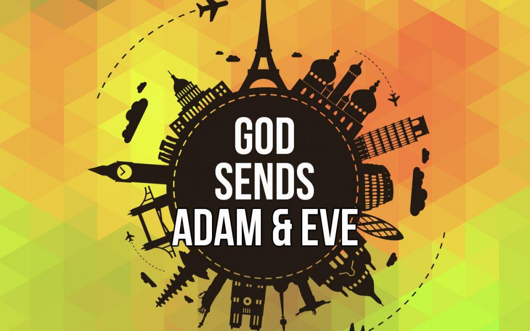 'God Sends Adam and Eve' (Genesis 2-3)