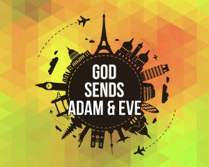 Click here for the 'God Sends Adam and Eve' lesson Powerpoint image