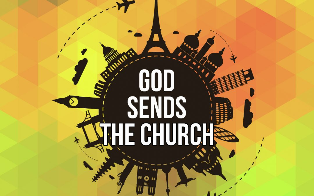 'God Sends The Church' Sunday School Lesson (Acts 12:1-17)