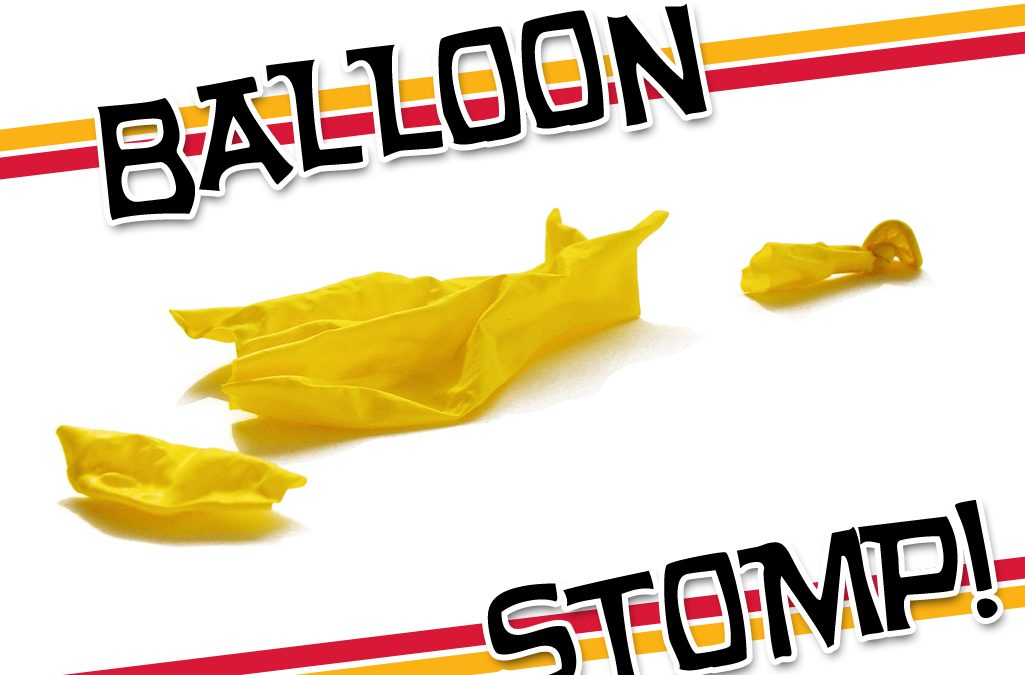 'Balloon Stomp' Game