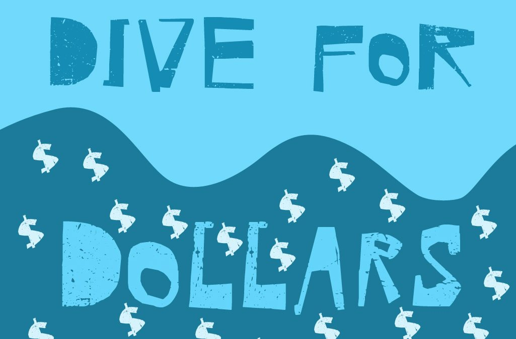 'DIVE FOR DOLLARS' game image