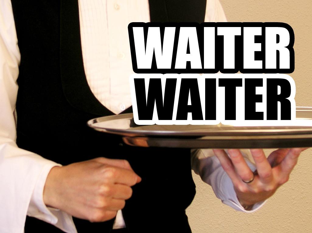 'Waiter Waiter' Game