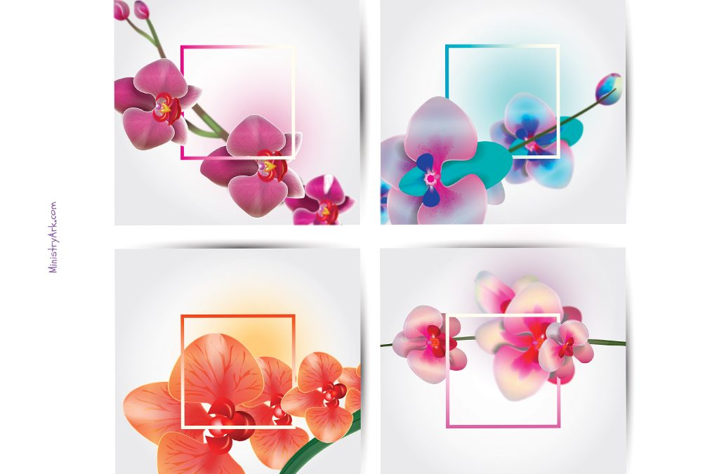 Flower Notelets Printable