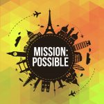 Click here for the high quality 'Mission Possible' postcard or invites