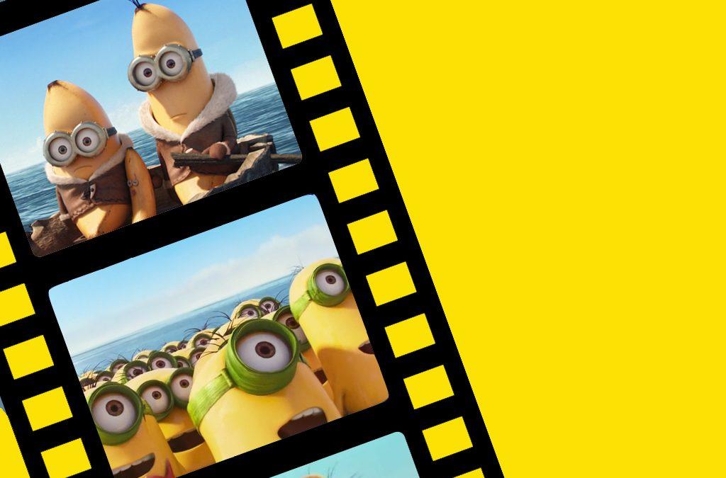 Minions Movie movie reel