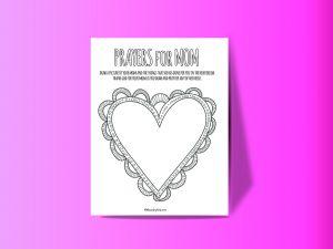 Prayers for Mom Printable