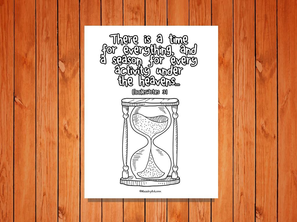 u0026 39 a time for everything u0026 39  printable  ecclesiastes 3 1