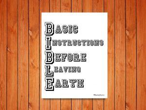 B.I.B.L.E Printable