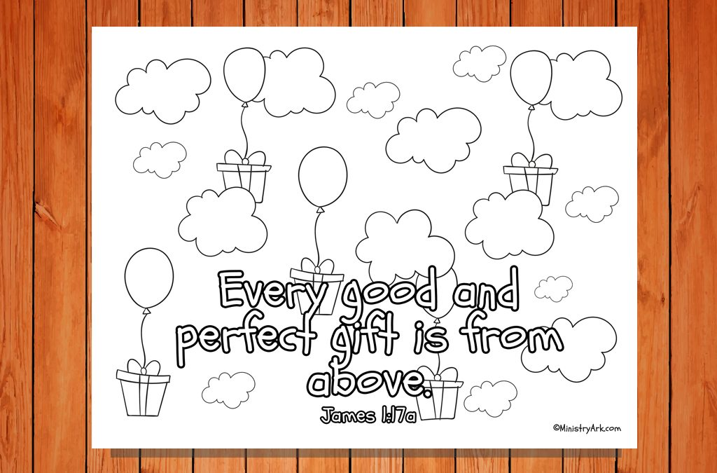 'Every Good and Perfect Gift' Printable