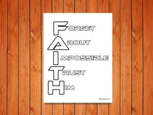 Faith Printable
