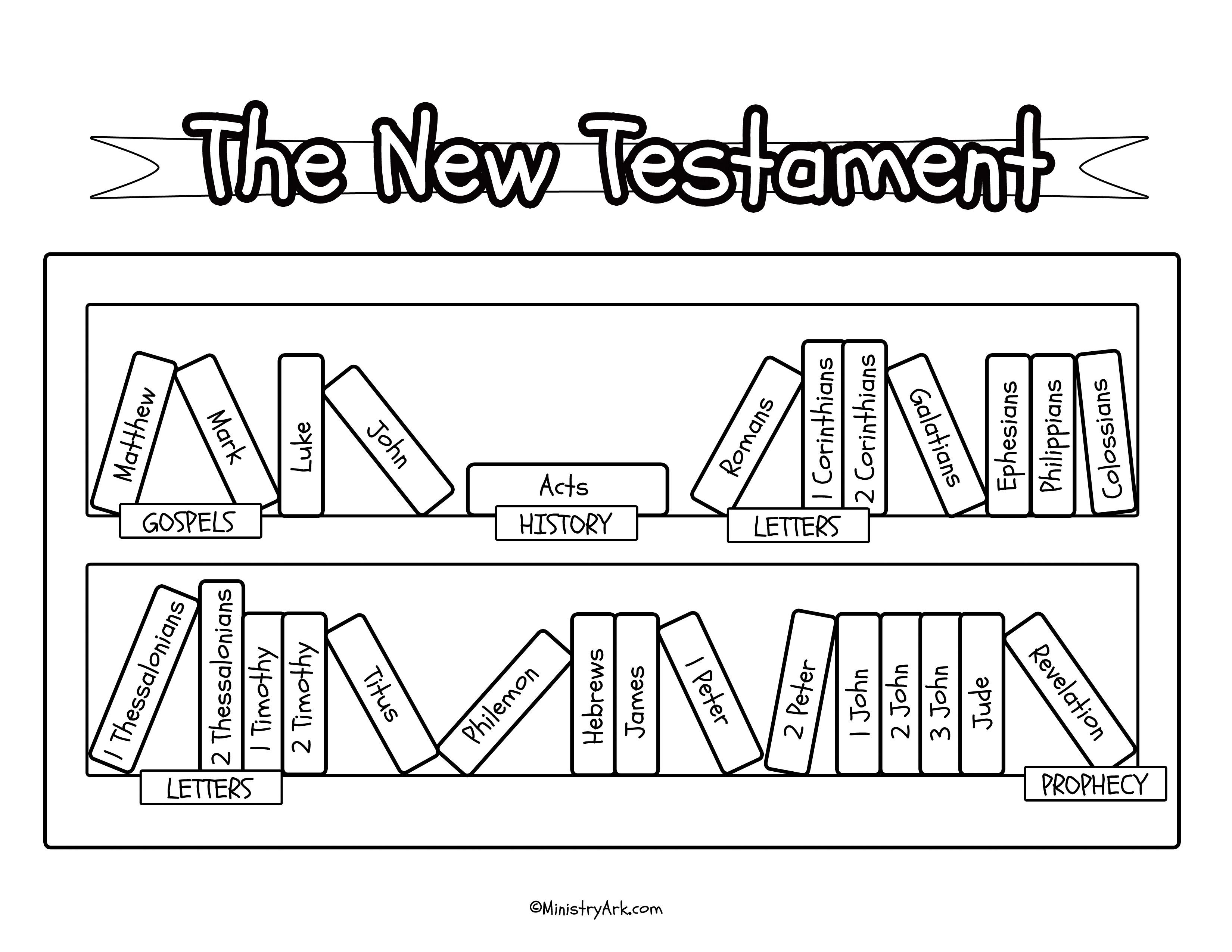 Bible Bookcase Printables • MinistryArk