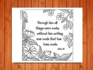 Through him all things were made