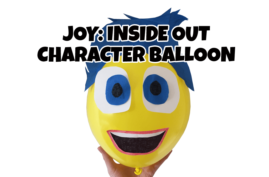 Joy: Inside Out Character Balloon