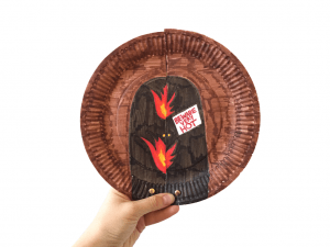 shadrach paper plate craft