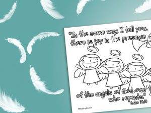 'Joy of the Angels' Printable