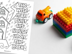 'Wise Man Built' Printable