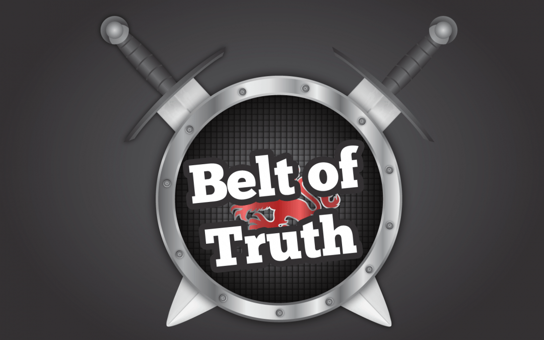 'Belt of Truth' Sunday School Lesson (Ephesians 6:14)