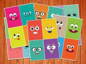 'Emotion Cards' Printables low res