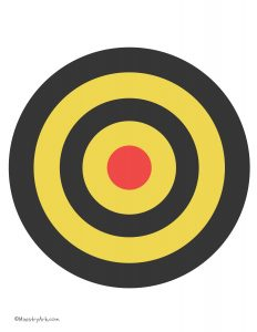 Red Yellow Black Target